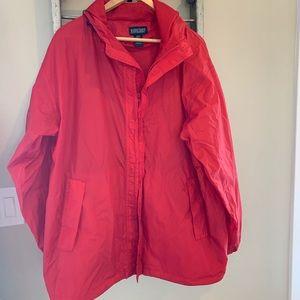 Lands End rain jacket- like new